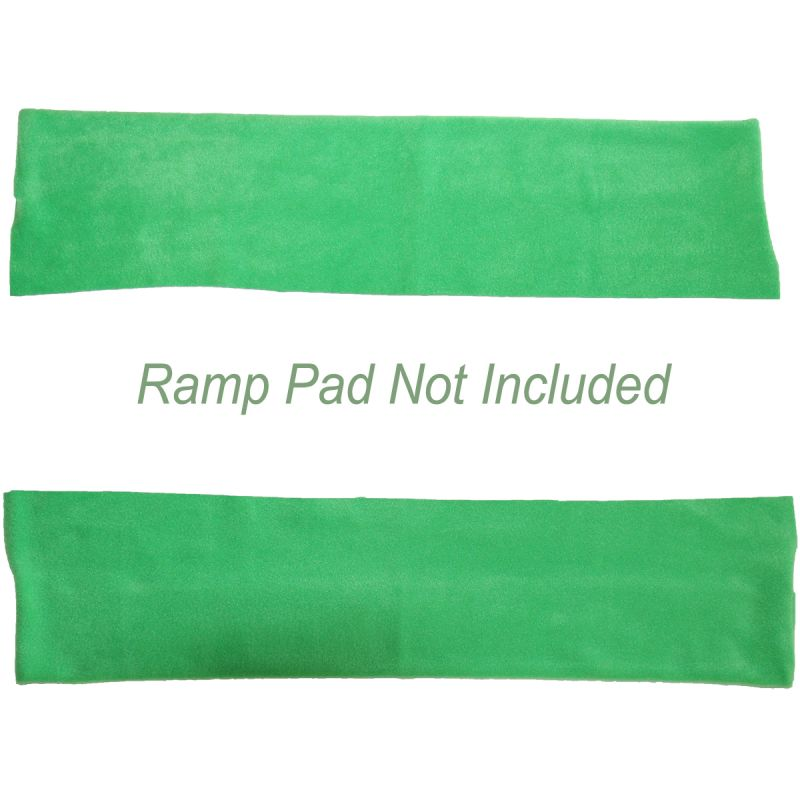 Ramp Cover Walls ONLY, shown in green