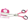 Scaredy Cut Pink Scissors with Guide