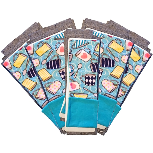 Tea Time Flippers Set of 3 and a Half