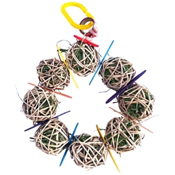 Wheeker Wreath Chew Toy