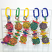 multiple Spinwheel snacker toy for guinea pigs and small pets