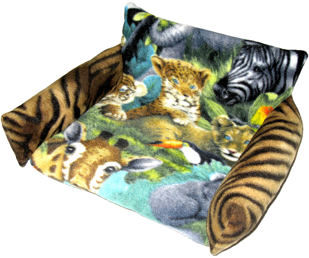 Futon in Jungle Animals with Tiger